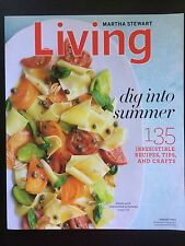 Martha Stewart Living DIG INTO SUMMER AUGUST 2011  FREE SHIPPING