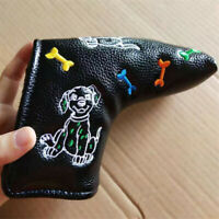 1pc Cute Little Dog Golf Putter Cover Blade Headcover for Taylormade Scotty Ping