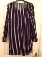Darling Black And White Tunic Dress size XL BNWT RRP £ 50