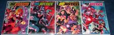 JUSTICE LEAGUE NO JUSTICE #1 2 3 4 1st print Set New Teams Start Here NM B163