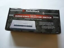 Radio Shack 4-In/1-Out Audio Video Selector Switch No.15-1983 Nib New In Box