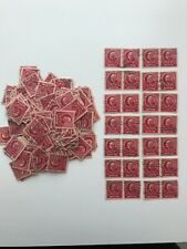 Scott #870 MARK HOPKINS (1940) - 300 Used Stamps - Including 14 Horizontal Pairs