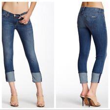Hudson Jeans Sz 26 Muse Crop Skinny w/ thick Cuffed Capri Jeans