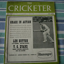 THE CRICKETER MAGAZINE 8TH JULY 1950 - LOOK FOR MORE INFORMATION!!