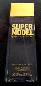 Victoria Secret SUPERMODEL Sheer Body Fragrance Mist Spray 8.4oz 250ml Brand New