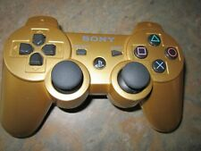 Sony Dualshock 3 Playstation 3 PS3  Gold wireless controller (CECHZC2U A2)