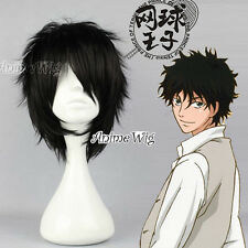Anime For The Prince of Tennis Akaya Kirihara Black Short Cosplay Full Wig+Cap