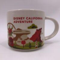Starbucks Disney Parks California Adventure Coffee Mug 14oz You Are Here