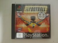 This is Football (PlayStation 1) PS1 PAL European Complete
