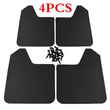 4x Black Universal Water Baffle Splash Guards Mudflaps For Car Pickup Truck SUV