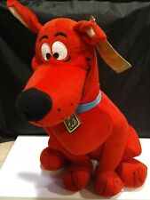 "Scooby Doo Red Toy Factory Stuffed Animal Plush Toy Sitting 18"" Tall"