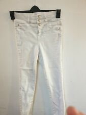 New Look White Jeans Size 10 (C1)