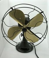"Vintage Emerson model 73648 Electric Fan 146"" Long Thick Cord Fan Restored Rare"