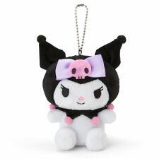 Kuromi Mini Plush Doll Toy with Ballchains Sanrio Kawaii Cute F/S NEW My Melody