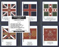 HUNTER-FULL SET- COLDSTREAM GUARDS (1ST SERIES L7 CARDS) - EXC+++