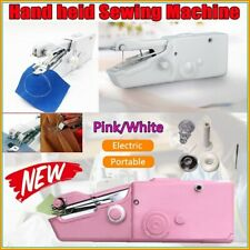 Portable Small Sewing Machine Mini Electric Tailor Stitch Hand-held Home