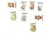 VINTAGE CLASSICS - MALDIVES SC# 1702-9 Mushrooms Set of 8 - MNH