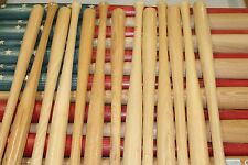 13 baseball bat halves for DIY baseball bat American flag. 18 inch blem bats