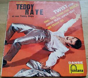 TEDDY RAYE ET SES TEDDY BOYS Twist stop EP 45t ORIGINAL FRANCE 1962