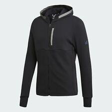adidas Ultra Beyond The Run Jacket Men's New Black Dark Grey Hoodie Top CD6354