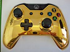 CUSTOM GOLD CHROME XBOX ONE WIRELESS CONTROLLER.