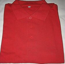 Vintage 2005 eBay Eachnet China Large Red Polo Shirt--Brand New in Package