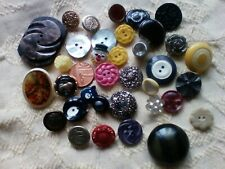 Vintage Collection of  Buttons  30+ buttons
