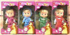 Simba Dickie 'Masha' Masha and The Bear Multi-Coloured Children's Dolls Toys New