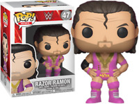 Razor Ramon 47 Funko Pop Vinyl New in Mint Box + Protector