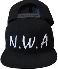 Compton men&women Snapback sport Baseball Cap Vintage Black NWA letter