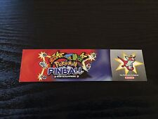 Nintendo Pokemon Pinball Ruby & Sapphire Bookmark - Not For Resale NFR RARE!!!