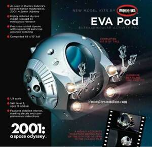 Moebius 2001: A Space Odyssey EVA Pod 1/8 Scale Model Kit  184MB200