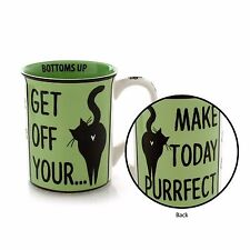 ENESCO OUR NAME IS MUD PURRFECT CAT MUG BY LORRIE VEASEY # 4050654
