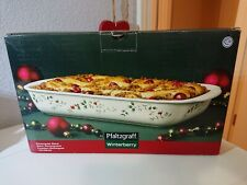 Pfaltzgraff Winterberry Rectangular Ceramic Baker
