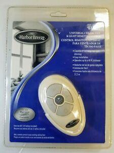 Harbor Breeze Universal Ceiling Fan & Light Remote Control Model 031594