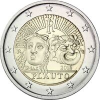 Italien 2 Euro 2016 Tito Maccio Plauto Gedenkmünze prägefrisch