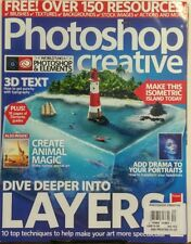 Photoshop Creative UK Issue 152 Dive Deeper Into Layers Art FREE SHIPPING sb