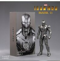 7in Iron Man Doll Action Figure MK2 MKII Model Toy 1/10 Collection Gift