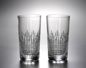 Baccarat Cystal Nancy Highball - Clear - Set of 2 NEW IN RED BOX!!