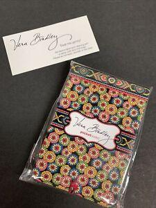 Vera Bradley Symphony in Hue Pocket Papers Notepad NIP Retired 4 Purse Tote Bag
