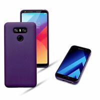 Slim Rugged Flexible High Density Composite   Urban Cover Purple For LG G6 Case