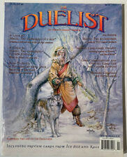 Vintage Duelist Magazines #5 Magic The Gathering MTG Cards - w/ Poster - No Card