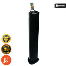 Bluetooth Tall Boy Speaker with Dock for iPhone 5 & 6 FM AUX