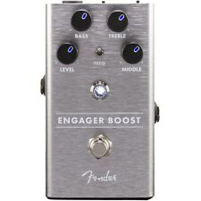 New Fender Engager Boost Guitar Pedal!