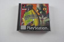 Sony Playstation Game PS1 Oddworld Abe's Exoddus