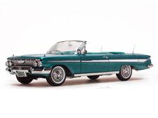 1961 Chevrolet Impala  Turquoise Convertible 1:18 SunStar 3407