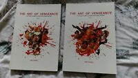 The Art of Vengeance: a Pictorial Journey of Kung Fu movie  Posters vol 1 AND 2