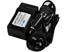 Battery+Charger SLB-10A SLB10A HMX-U10 U100 ES50 L100 M100 PL50 SL102 WB150 P800