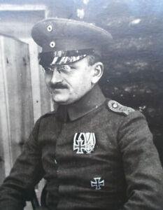 Foto PK Offizier Oberleutnant LFAR 3 EK 1 & 2 KuK Feb. 1918 HOCH INTERESSANT !!