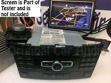2013 Mercedes-Benz CLS-Class E-Class Navigation MULTI 6 CD DISC PLAYER Radio